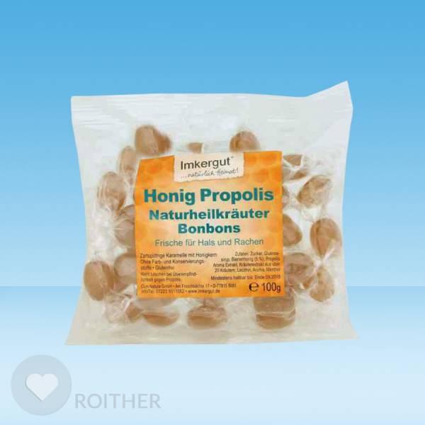 Honig Propolis Kräuter Bonbons 100g