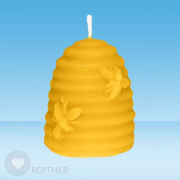 Bienenkorb Kerze