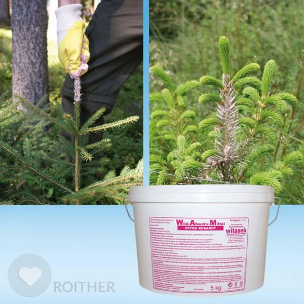 5 kg WAM Extra Rosarot - Winterverbissschutzmittel