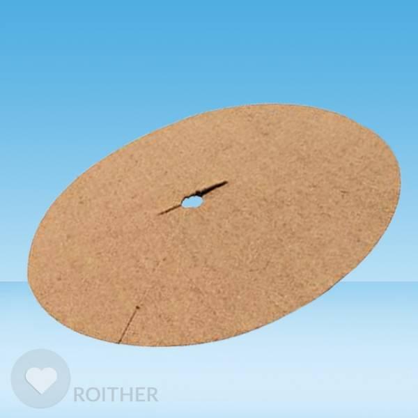14 Stk. Kokosscheibe Ø 57 cm - Zubehör für Gießrand