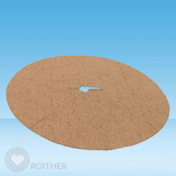 1 Stk. Kokosscheibe Ø 80 cm - Zubehör für Gießrand