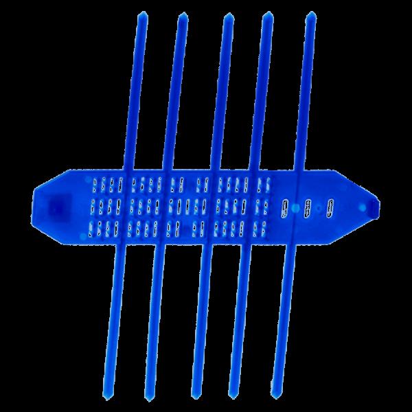 Kurze Schutzmanschette signalblau (100 Stk.)