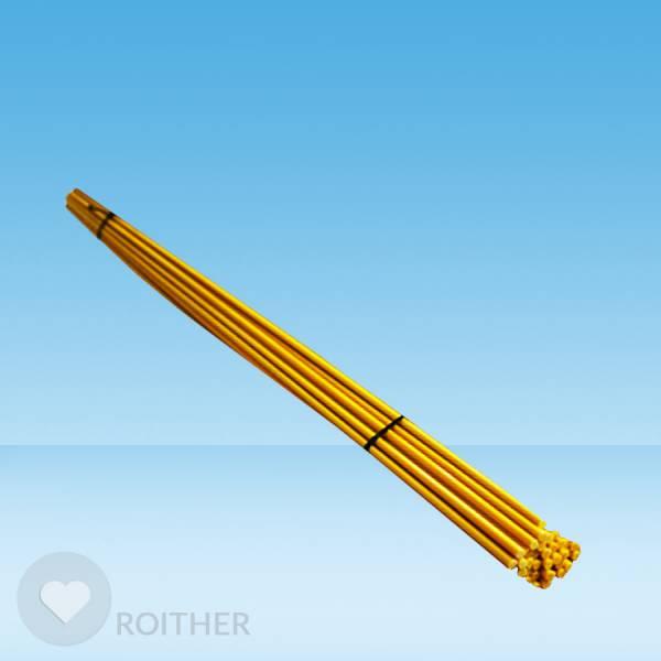 Markierstab Vinotto® Fiberglas gelb 7mm x 130cm (20 Stk.)