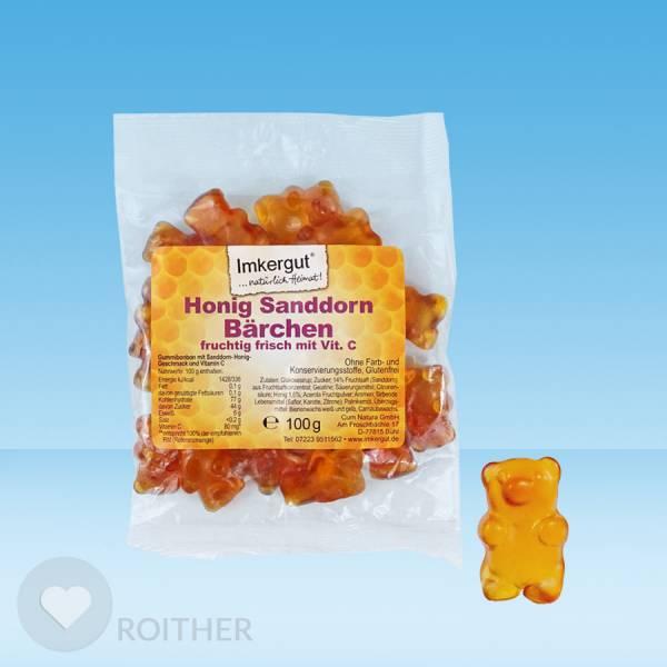 Fruchtsaft Sanddorn Honig Bären 100 g