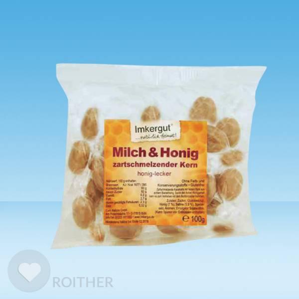 Milch & Honig Bonbons 100g