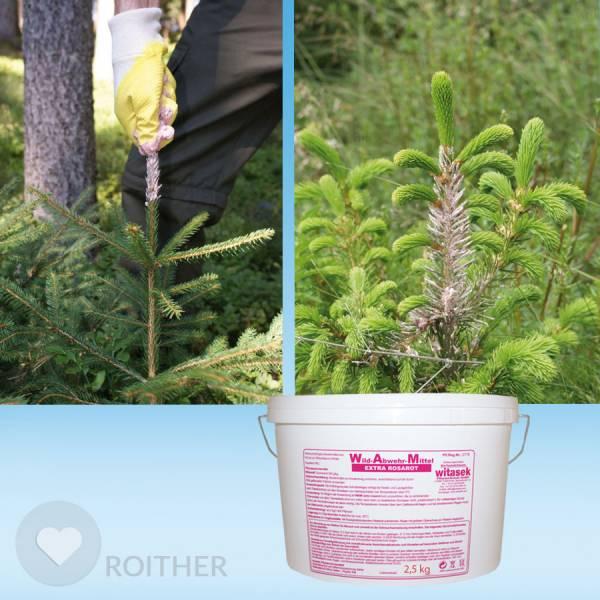 2,5 kg WAM Extra Rosarot - Winterverbissschutzmittel