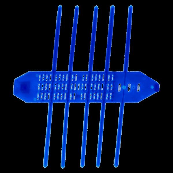 Kurze Schutzmanschette signalblau (1000 Stk.)
