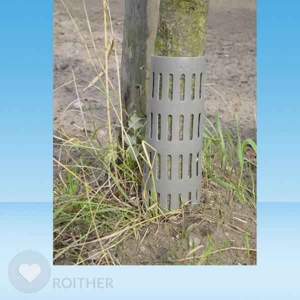 100 Stk. ArborGard Stammschutz gegen Mähschäden - Grau - Restbestand